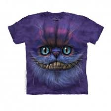 Big Face Cheshire Cat Tee Shirt  Big Face Cheshire Cat Tee Shirt