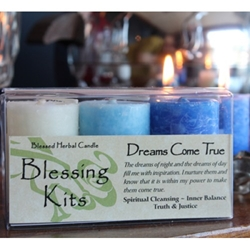 Blessed Herbal Candle Dreams Come True Blessing Kit