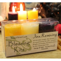 Blessed Herbal Candle Jinx Removing Blessing Kit