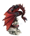 Bloodfire Dragon Statue by Andrew Bill -  WU77230AB