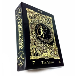Azathoth Tarot Cards By Nemos Locker Self Published Limited 7th Edition Azathoth Tarot Cards By Nemos Locker Self Published Limited Sixth Edition, Azathoth Tarot, Book of Azathoth Tarot, Small Press Tarot, Limited Edition Tarot