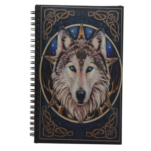 Book of Shadows The Wild One Wolf Journal