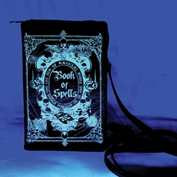 Book of Spells Glow in the Dark Clutch Bag Book of Spells Glow in the Dark Clutch Bag