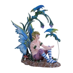 Boy and His Dragon Fairy Statue by Amy Brown   Boy and His Dragon Fairy Statue by Amy Brown