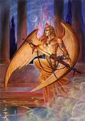 Briar Archangel Michael Card