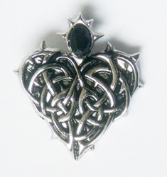 Briar Children of The Night Vampire Jewelry  Barbed Heart for Eternal Love CN11