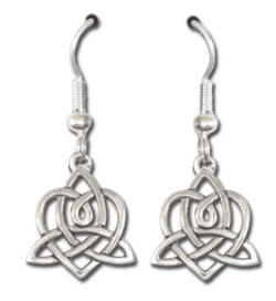 Brigid's Heart Earrings by Deva Designs