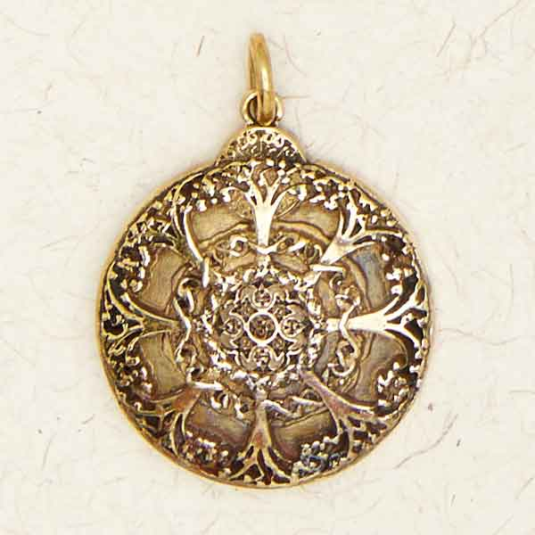 Bronze Tree of Life Pendant by Courtney Davis