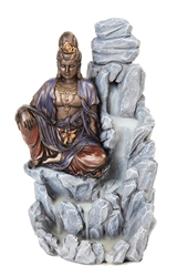 Buddha Backflow Incense Burner Tower