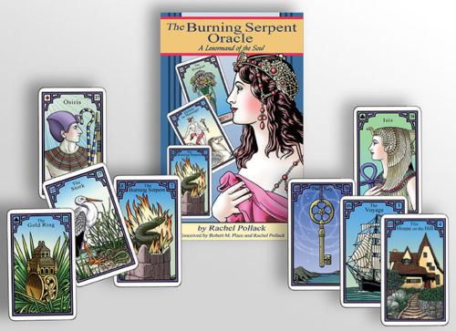 Burning Serpent Tarot Deck & Book by Robert Place