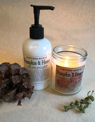 Bwitching Pumpkin & Honey Handcrafted Candle