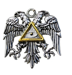 Byzantine Eagle for Power and Glory Pendant