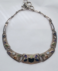 Carved Goddess Collar by Offerings