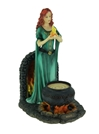 Celtic Brigid Goddess Of Hearth & Home Standing Holding Sacred Flame Statue Celtic Brigid Goddess Of Hearth & Home Standing Holding Sacred Flame Statue