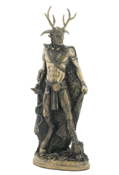 Amazing Celtic Cernunnos Statue by Pagan Artist Neil Sims