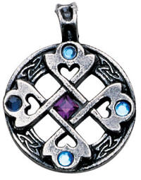 Celtic Cross Heart Pendant for True & Happy Friendship  Product Code: NLMA01