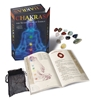 Chakras Kit: The Seven Doors of Energy Book and Crystals Azathoth Tarot Cards By Nemos Locker Self Published Limited Sixth Edition, Azathoth Tarot, Book of Azathoth Tarot, Small Press Tarot, Limited Edition Tarot