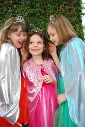 Childrens Adventure Capes in Jewel Tones