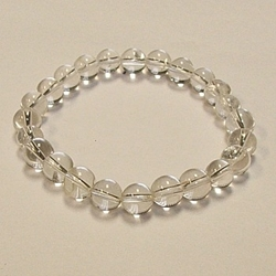 Clear Quartz for Healing 8mm Beaded Crystal Stone Bracelet    Clear Quartz for Healing 8mm Beaded Crystal Stone Bracelet