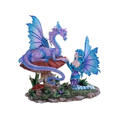 Companion Dragon Fairy Statue by Amy Brown    Companion Dragon Fairy Statue by Amy Brown