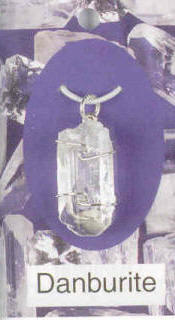 Danburite Pendant Connection with the Angelic Realm