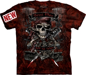 Deadman Tell No Tales 3017 Pirate T-Shirt