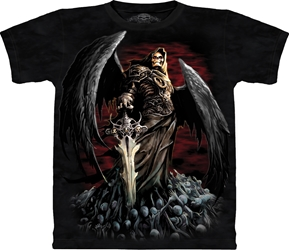 Death Wish Crypt Tee Shirt 10-6016