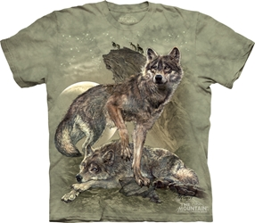 Defending the Pack 3476 Wolf Totem T-Shirt
