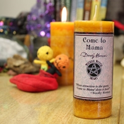 Dorothy Morrison Come To Mama Wicked Witch Mojo Candle