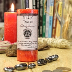 Dorothy Morrison Makin Tracks Wicked Witch Mojo Candle