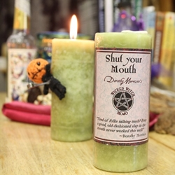 Dorothy Morrison Shut your Mouth Wicked Witch Mojo Candle