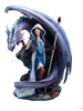 Dragon Mage Statue By Anne Stokes     Dragon Mage Statue By Anne Stokes