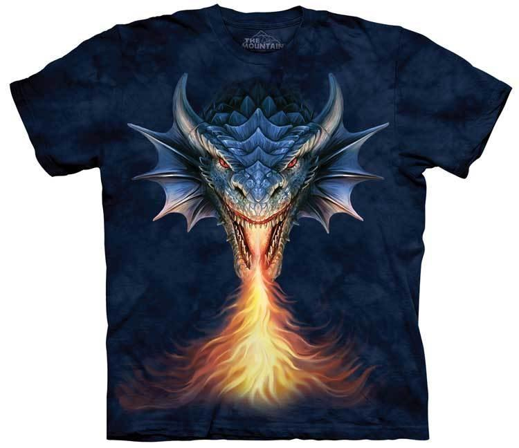 Dragon T-Shirt | Fire Breather Adult  Dragon Tee Shirt by Anne Stokes  Dragon T-Shirt | Fire Breather Adult  Dragon Tee Shirt by Anne Stokes
