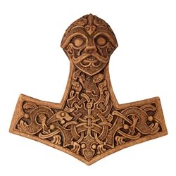 Dryad Designs Thors Hammer Plaque by Paul Borda