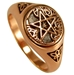 Dryad Designs Copper Tree Pentacle Ring - CTR3417