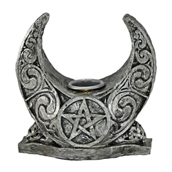 Dryad Designs Moon Candle Holder (single) Dryad Designs Moon Candle Holder, Celtic Candle Holder, Paul Borda