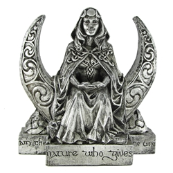 Dryad Designs Moon Goddess Statue, Large By Paul Borda  Dryad Designs Moon Goddess Statue, Large By Paul Borda