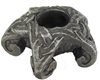 Dryad Designs Pewter Mini Pentacle Candle Holder by Paul Broda