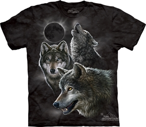 Eclipse Wolves 3398 Wolf Totem T-Shirt
