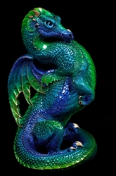 Emerald Peacock Emperor Dragon by Windstone Editions