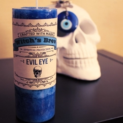 Evil Eye Witchs Brew Candle