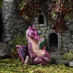 Fairy Garden Little Reading Dragon Fairy Garden Little Reading Dragon, Reading Dragon
