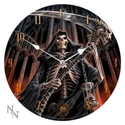 Final Verdict Wall Clock by Anne Stokes