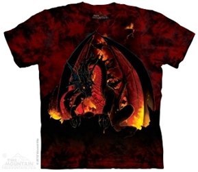 Fireball Dragon Tee Shirt