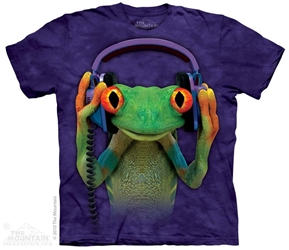 Frog T-Shirt | DJ Peace Tee Shirt