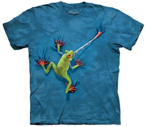 Frog T-Shirt | Frog Tongue Adult