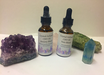 Gemstone-Infused CBD Tincture, Reiki  Gemstone-Infused CBD Tincture