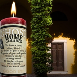 Ghost Candle Home Clear & Bless Limited Edition