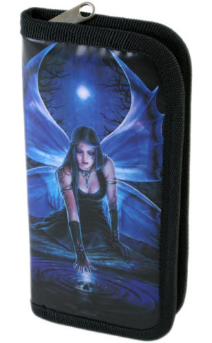 Gothic Billfold Clutch Immortal Flight Wallet by Anne Stokes