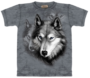 Grey Wolf Tee   Wolf Totem T-Shirt
